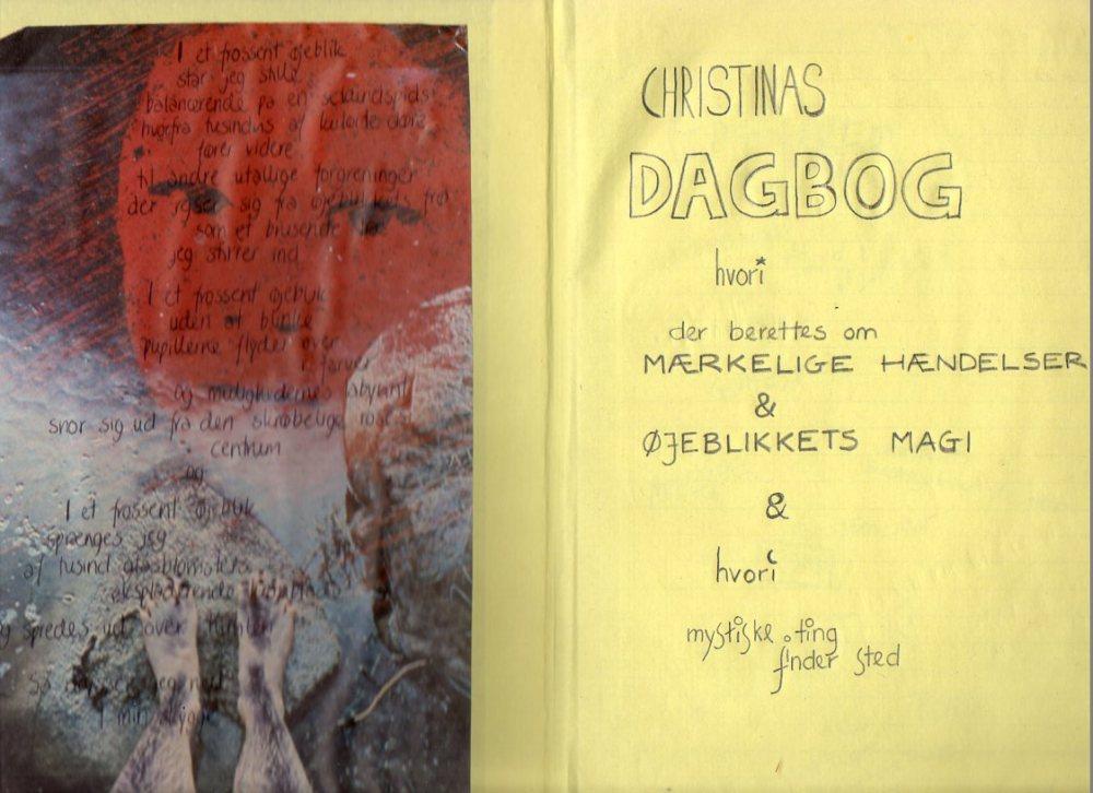 dagbogsopslag forside